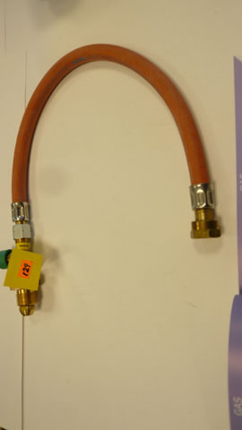 Uk high pressure gas  hose with rupture protection
