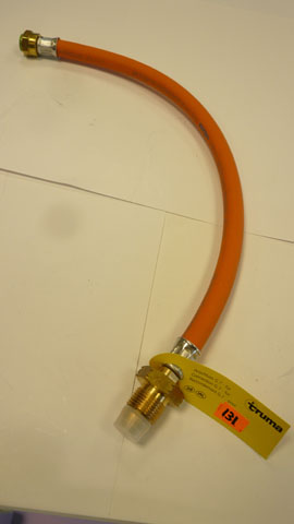 Uk  propane hose connector