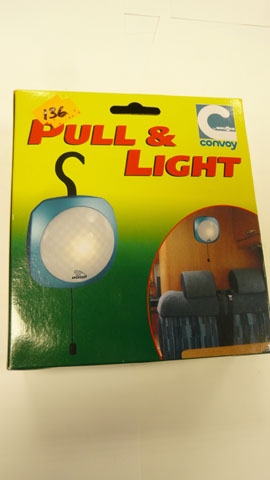 Hanging Pull light