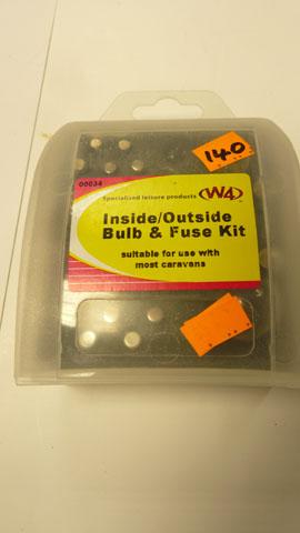 Inside /outside bulb & fuse kit
