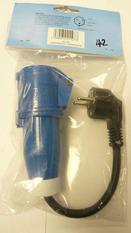 Continental conversion plug
