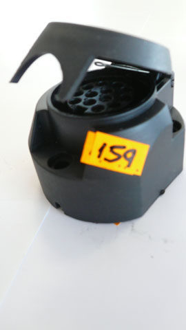 Black 13 pin socket