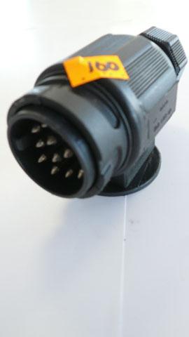 Black 13 pin Plug