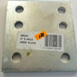 4.6 Inch drop plate