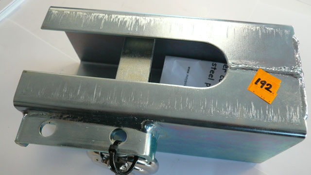 Standard Zinc plated hitch lock