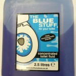 Blue stuff concentrated toilet fluid ( 2.5 L)