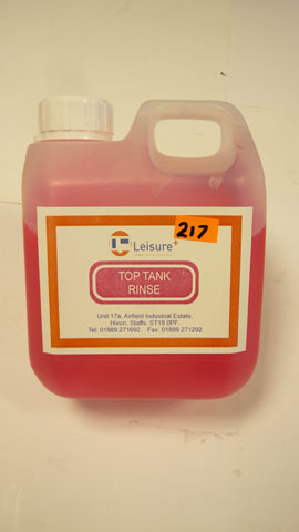 Top tank rince aid  (1L   Pink )