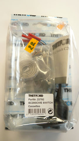 Thetford  SC200 Electric Flush Switch  cassettes
