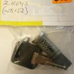 West alloy Barrel c/w 2 keys