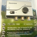 Maxiview Signal Booster 12-24v
