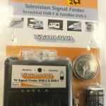 Television Signal Finder (Terrestrial -satellite DVB-S)