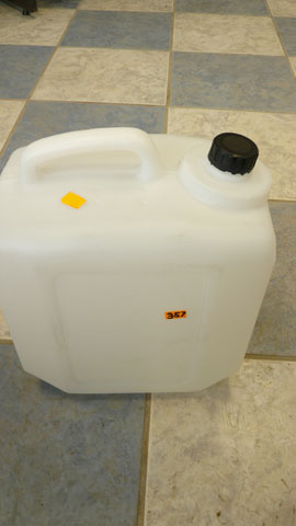 Water container (small 2 gallon)