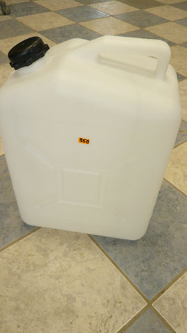 Water container (Large 5 gallon)