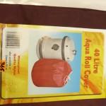 40Litre Aqua roll cover
