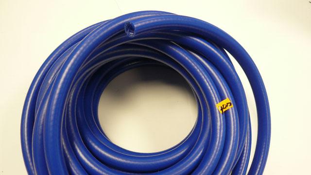 Reinforced Blue pvc hose