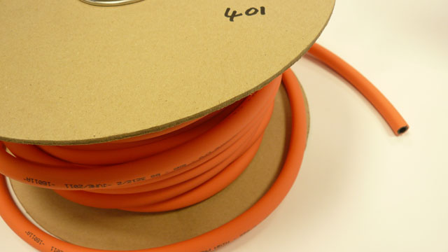 Orange 8mm gas hose
