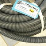 Convoluted waste hose
