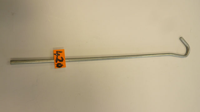 200mm steel tent pegs( light)