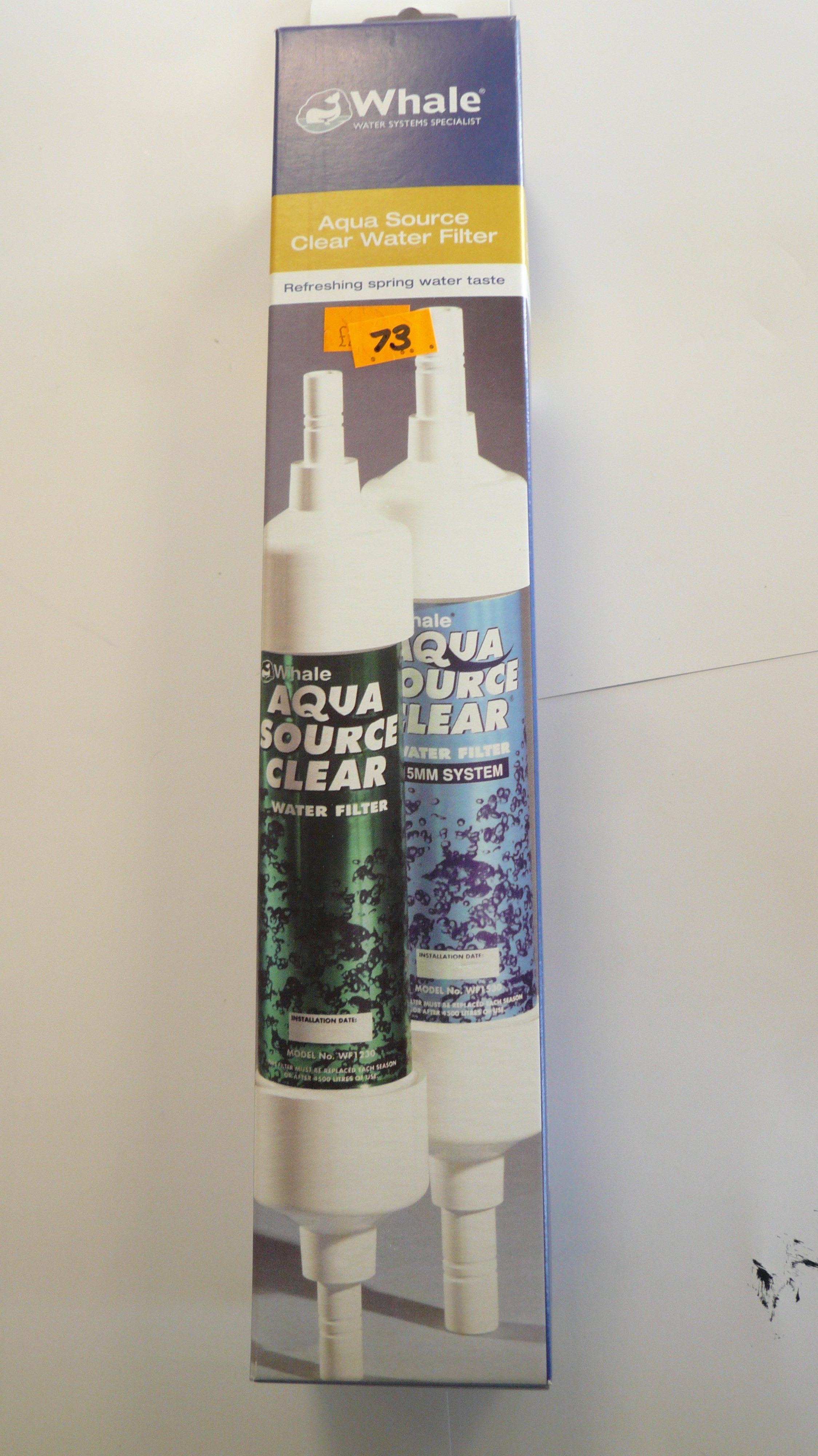 Whale Aqua  source clear water filter
