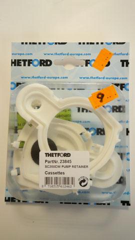 Thetford SC 200 W Pump Retainer cassettes