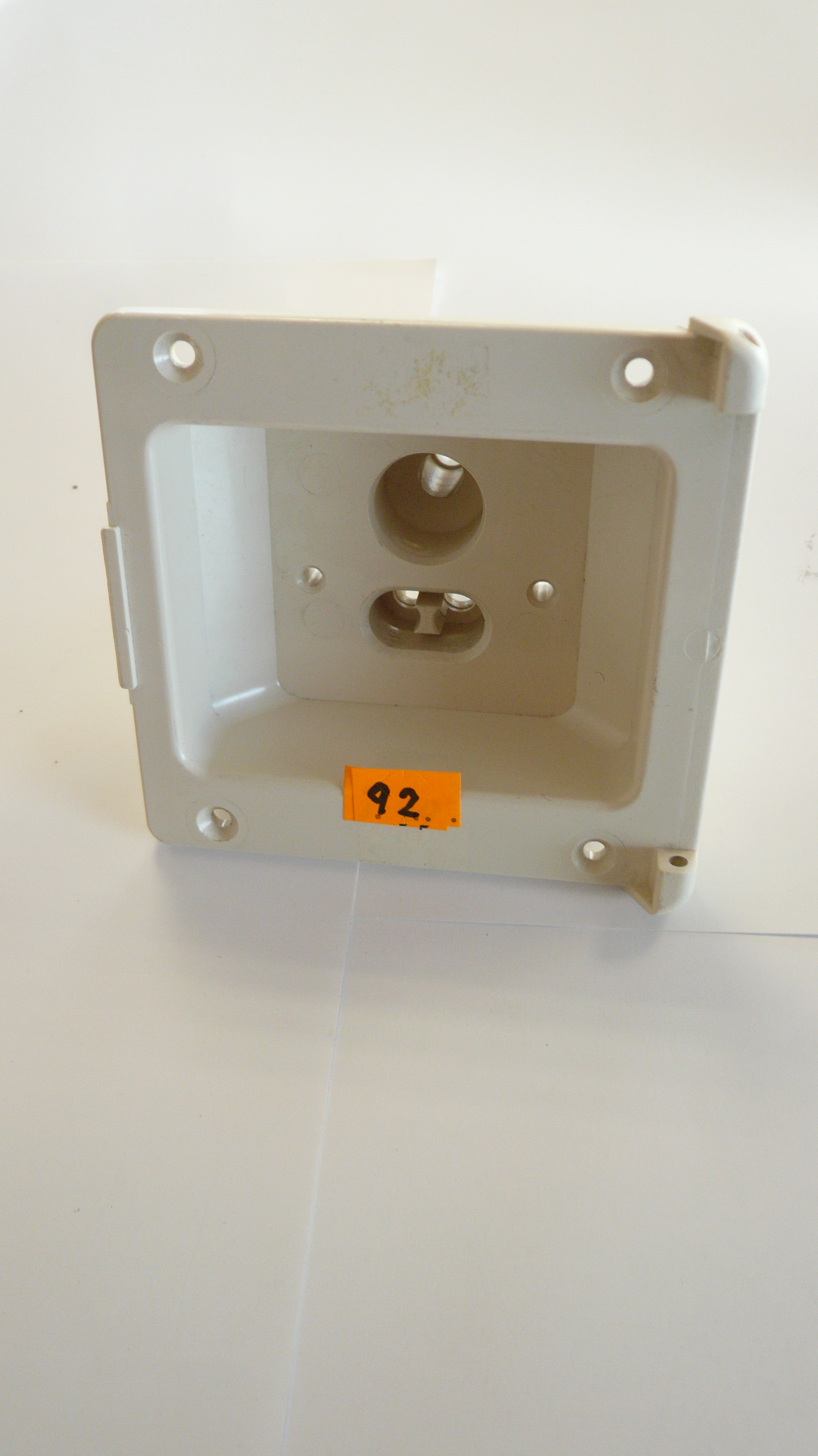 Water and electric housing socket