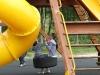 Children-tyre-swing