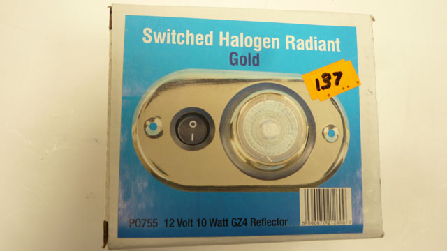 Switched Halogen Radiant
