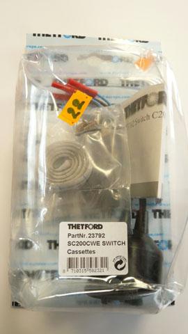 Thetford  SC200 Electric Flush Switch  cassettes