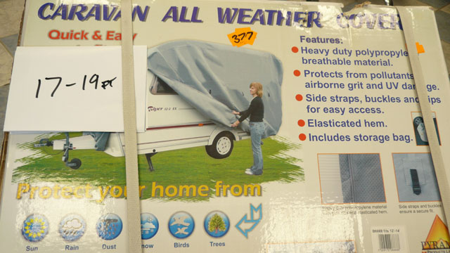 Breathable Caravan all weather cover
