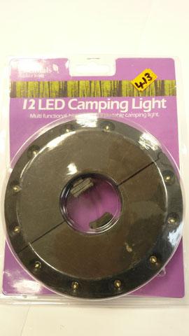 12 Led camping light